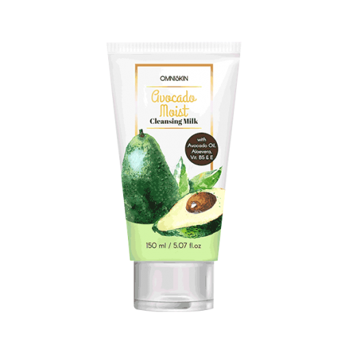 avocado moist cleansing milk